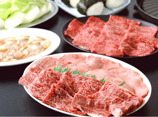 山形牛の焼肉コース写真