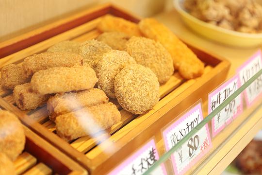 惣菜陳列写真